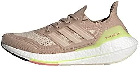 adidas Women's Ultraboost 21 Running Shoe, Ash Pearl/White/Halo Ivory, 7.5