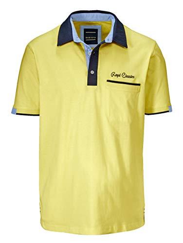 BABISTA Herren Poloshirt Gelb 56 Baumwolle