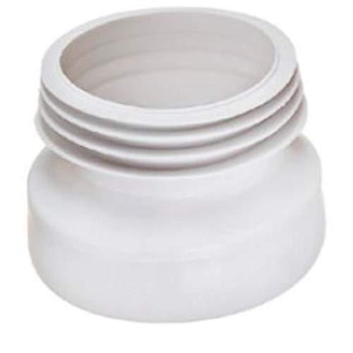 WC Manschette 92 mm lang zentrisch Toilette Klo Anschluß Abfluß
