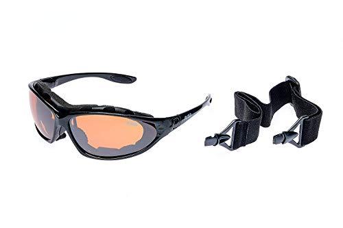 RAVS Unisex Sportbrille Schutzbrille für Wintersport Skibrille Kontrastverstärkt
