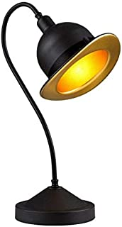 Avonni ML-4093-COWBOY-SY Black Desk Lamp | Metal Modern Design | Lighting | Lampshade | Decorative Table Lamp | Bedside Ta...