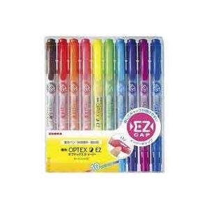 (業務用5セット) ZEBRA ゼブラ 蛍光マーカー/蛍光オプテックス2 【10色セット】 詰め替えタイプ EZ WKT11-10C