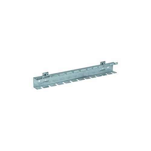 Kraftwerk 3964-29 - 10 gereedschaphouder Gereedschap- en planken (houder voor gereedschap, schroevendraaier, roestvrij staal, 370 mm, 48 mm, 33,5 mm)