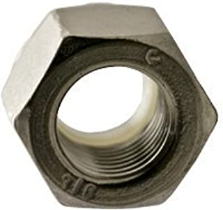 NM and NE Series 1-1//4-12 Zinc Plated Steel 14 pcs Hex Nylon Insert Stop Lock Nuts