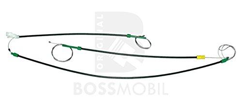 Original Bossmobil GOLF 3 III, VENTO, Vorne Links 2Tür und 4Tür, manuell oder elektrischer Fensterheber-Reparatursatz