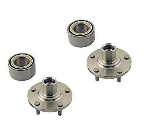 2 Front Wheel Hub Wheel Bearing Kits Compatible With Acura TSX Honda Accord, Accord Crosstour, Crosstour Front Left Right