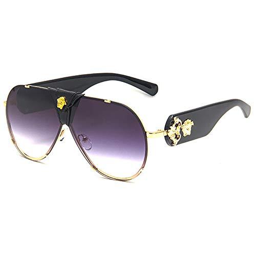 SHEEN KELLY Pilot Sonnenbrillen für Frauen Verspiegelte Gläser Damen Medusa Sonnenbrillen Herren Driving Sonnenbrillen UV400-Schutz