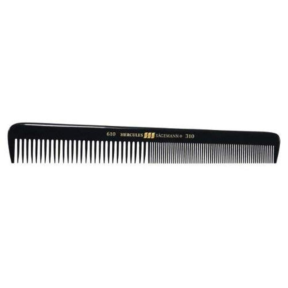 ネブ裁判所ステーキHercules S?gemann Gents Comb for short hair | Ebonite - Made in Germany [並行輸入品]