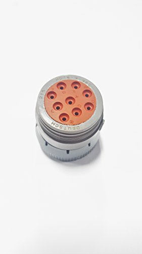TE CONNECTIVITY HD16-9-96S HD10 Series 9 Position Sealable Wire to Wire Cylindrical Connector Plug Housing - 2 item(s)