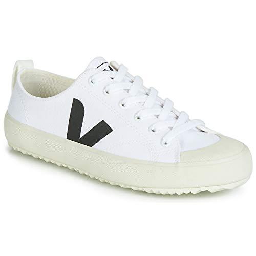 VEJA NOVA Sneakers hommes Wit/Zwart Lage sneakers