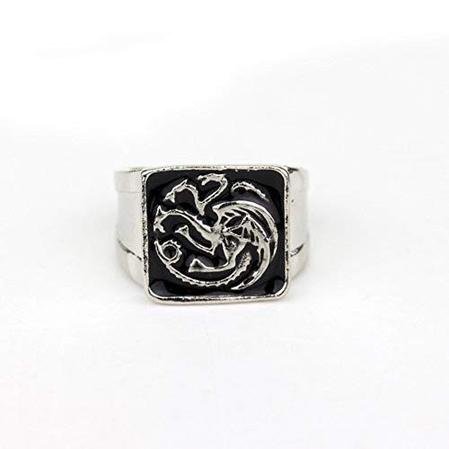 Game of Thrones Rings for Man JewelryIce of songs Tyrion Lannister Dragon Ring