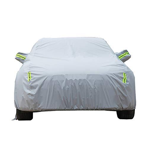 Couverture de Voiture B/âche Voiture Compatible avec Maserati Quattroporte Imperm/éable De Voiture Couverture De Voiture V/êtements Oxford Tissu Sunscreen Rain Cover Voiture B/âche Color : Blue