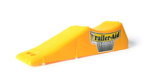 Trailer-Aid Tandem Tire Changing Ramp, The Fast and Easy Way To Change A Trailer s Flat Tire, Holds up to 15,000 lbs, 4.5 Inch Lift (Yellow)