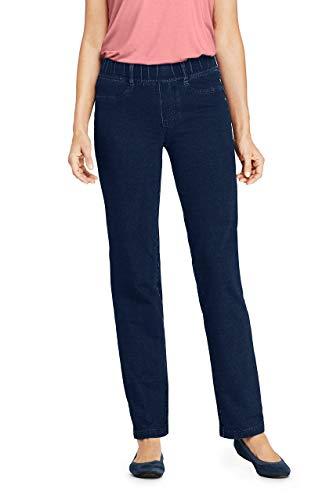 Lands' End Women s Starfish Jeans Indigo Regular X-Large