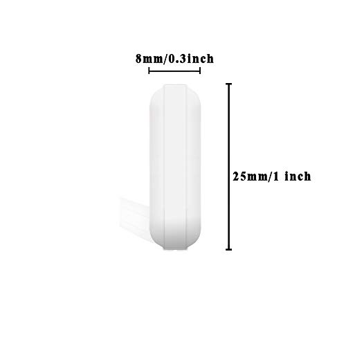 uxcell Lab Spare Parts PTFE Cylindrical Stir Magnetic Stirrer Bar 0.2 X 0.4 Inch