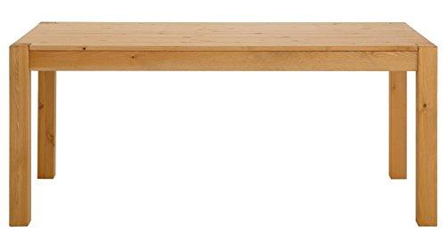 Loft24 A/S Esstisch Esszimmertisch Landhaus Küchentisch Holztisch Kiefer Massivholz (gebeizt geölt, 240 x 100 cm)