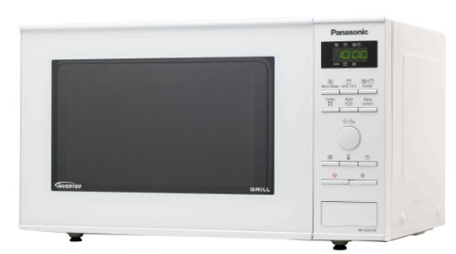 Panasonic NN-GD351WEPG Forno a Microonde, 23 lt, Inverter Grill, 950 W, Bianco