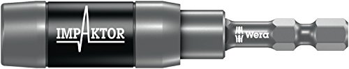 897/4 IMP R Impaktor Halter mit Ringmagnet und Sprengring, 1/4 Zoll x 75 mm, Wera 05057676001