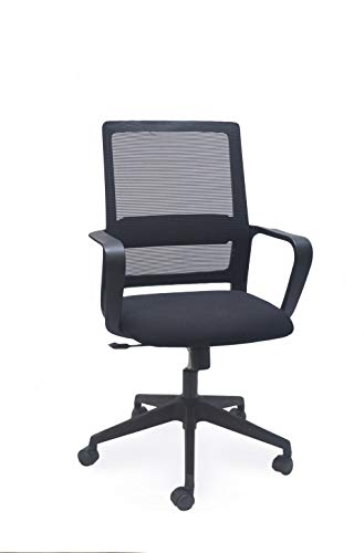 SOS Spacewood LiteOffice Aeon Mesh Back Nylon Base Office Chair