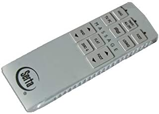 Serta Motion Perfect 1.0 (New 2019 Black Version) Replacement Remote for Adjustable Beds