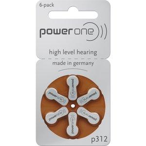 Varta Powerone Typ 312 Hörgerätebatterie Zinc Air P312 PR41 ZL3, 180 Stück