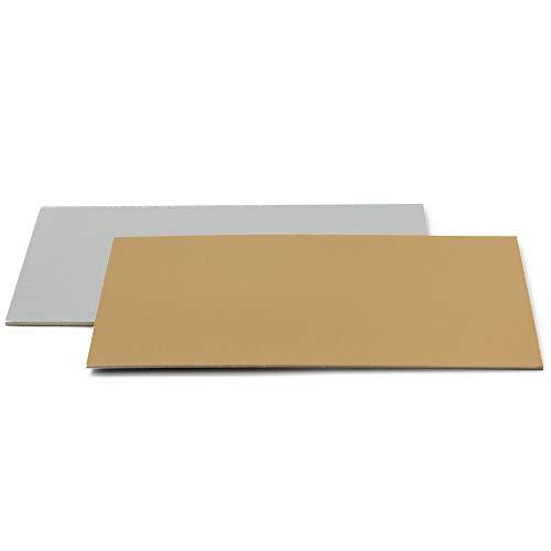 Decora 0932518 TORTENPLATTEN IM Set Gold/Silber 40X60 cm
