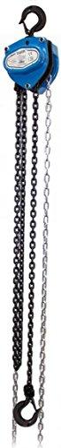 Tractel amz1022011tralift montacargas de cadena, 500kg, 3m), color negro