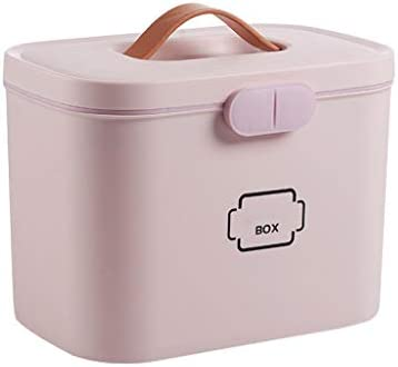 IKevan Portable Office Dorm Household Plastic Large Capacity Storage Box Emergency Small First product image