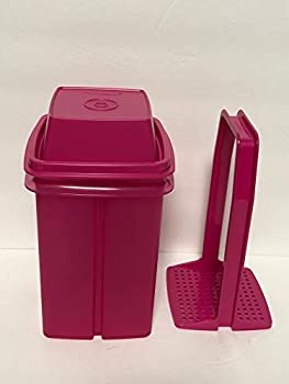 Tupperware Pick a Deli Pickles Olives Keeper Small NEW Pink 4 Cup