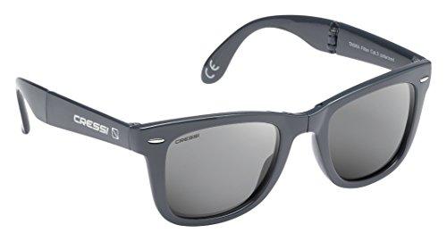 Cressi Taska Gafas de Sol, Unisex Adulto, Gris/Gris Oscuro, Talla Única