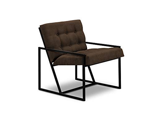 Windsor & Co Sessel, Galaxy, 1 Sitzer, Braun, 62 x 70 x 78 cm