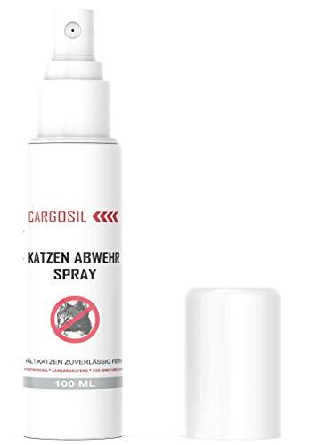 PowerSupps CARGOSIL Katzen Abwehr Spray für Innen und Außen – STOPP bleib Weg -...