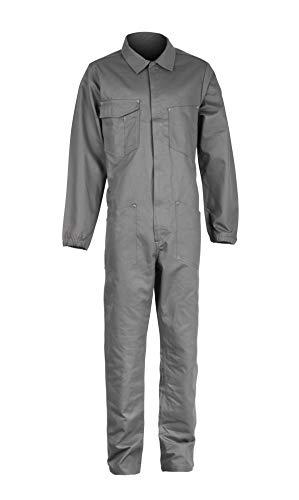 DINOZAVR Cover Mono de algodón con numerosos Bolsillos para Hombre - Gris - 2XL