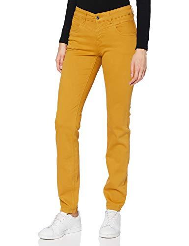 MAC Jeans Damen Dream Slim Hose, 567R Dark Curry, 42/32