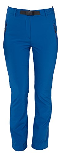 Fifty Five Thermohose Damen Softshellhose Outdoor Orac Blau 44 Warme Funktionshose