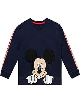 Disney Sudadera para Niños Mickey Mouse Azul 2-3 Años