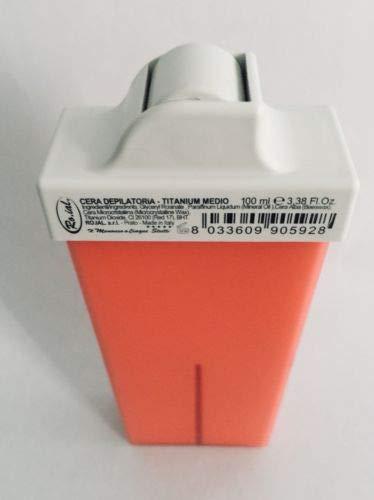 Ro.ial Warmwachs,- Heißwachspatrone mit mittlerem Roll-On-Kopf - für Bikinizone + Achselhöhlen - 100 ml - Made in Italien !