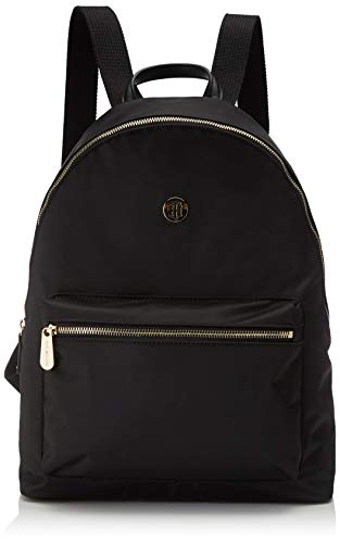 Tommy Hilfiger Poppy Backpack, Zaino Donna, Nero (Black), 1x1x1 centimeters (W x H x L)