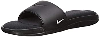 Nike Women s Ultra Comfort 3 Slide Sandal Black/White Size 9 M US