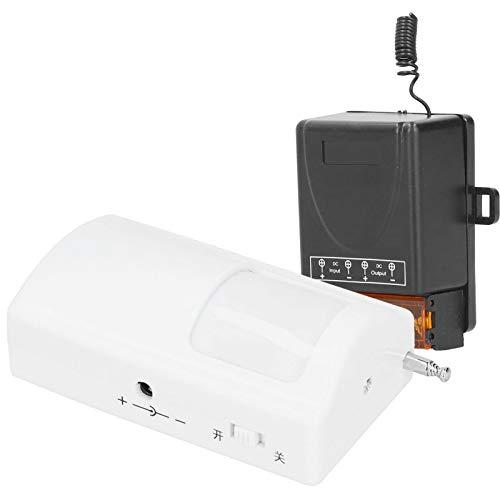 Detector de detección de Cuerpo, con Interruptor de detección de DC12-72V de Ajuste de retardo, Seguridad fácil de Usar para el Marco de la Ventana de la Puerta Delantera