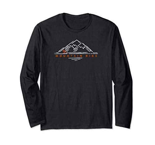 Mountain Bike Life Trails Are Calling MTB Big Mtn Trail Ride Long Sleeve T-Shirt