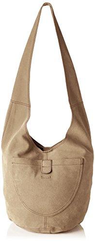 Think! Damen Bag Schultertasche, Beige (Taupe 26), 30x28x43 cm