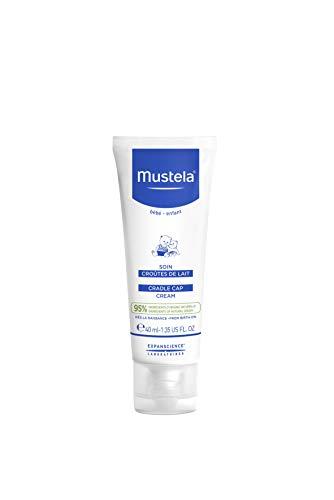 Mustela Baby Cradle Cap Cream, Fragrance-Free, with Natural Avocado Perseose