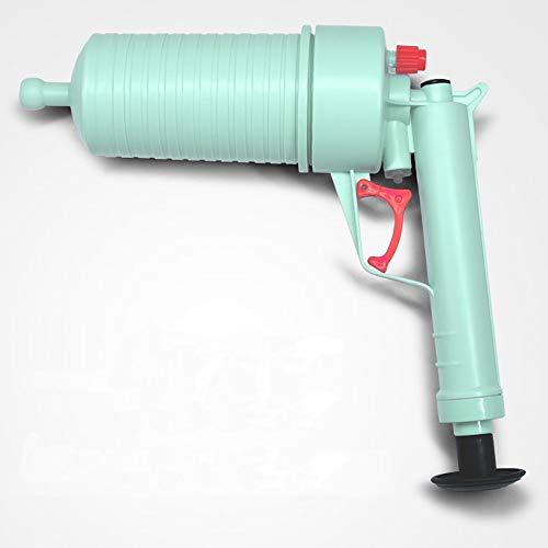 FYHCY Toilettenkolben,Abfluss Pistole, Pressluft-Rohrreiniger mit 4 Art Saugnäpfen, Multifunktionale Reinigungspumpe verwendbar für Toilette, Badewanne, Dusche, Wanne