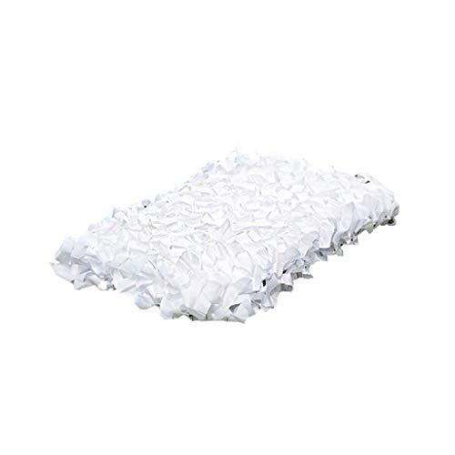 Tentzeil/schaduwnet luifel, Sunscreen Netting Woodland, wit, sneeuw, leger, camo net zonnescherm, jacht, camping, tegels, camouflagennet 8x10m