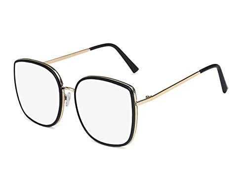 chuanglanja Gafas De Sol Gafas De Sol Ojo De Gato Mujer Gafas Mujer/Hombre Gafas Vintage Mujer/Hombre Espejo-Color-W