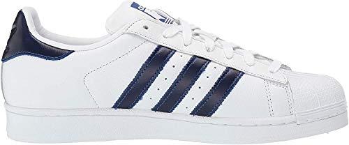 adidas Men's Superstar Fitness Shoes, White (Blanco 000), 8.5 UK