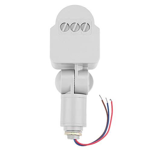 Ginorgee Interruptor Inductor - Detector de Sensor de Movimiento de Cuerpo Humano infrarrojo Interruptor Inductor para Reflector LED