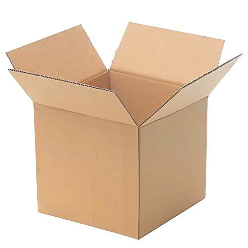 YI-LIGHT Caja de cartón, Cajas de envío de Entrega de 100 Paquetes, Cajas Medianas para mudanza Cajas de cartón Corrugado, Caja de empaque para mudanza y Almacenamiento, 9 x 5 x 6 Pulgadas