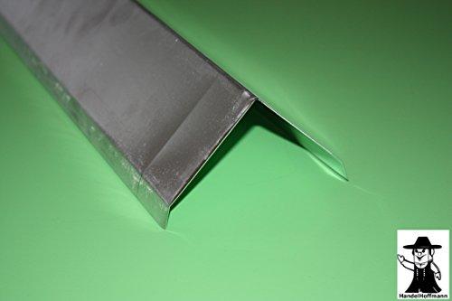 Firstblech 2 m lang Aluminium Natur 0,8 mm (mittel)